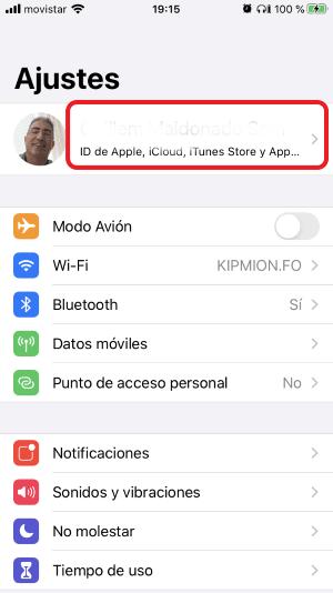Copia de seguridad iphone ipad