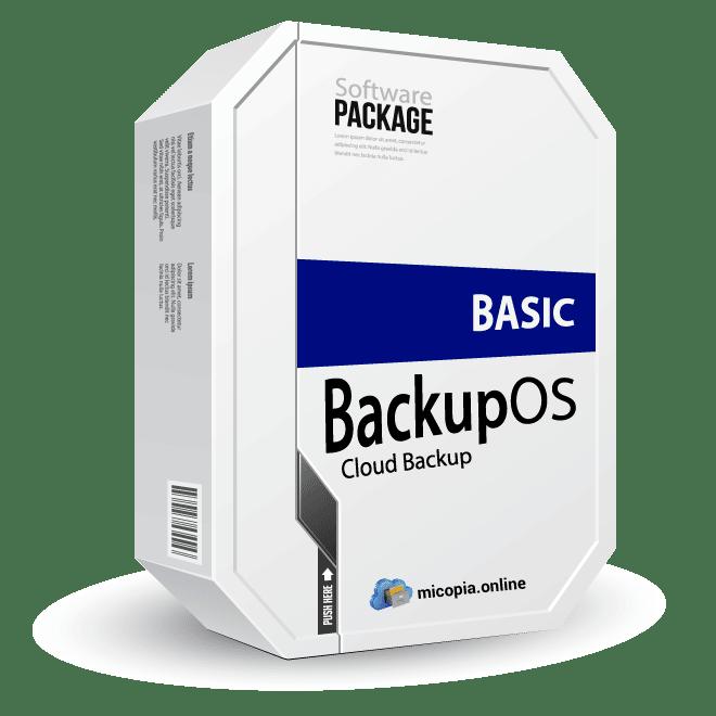 BackupOS Basic Copia de seguridad en la nube | micopia.online