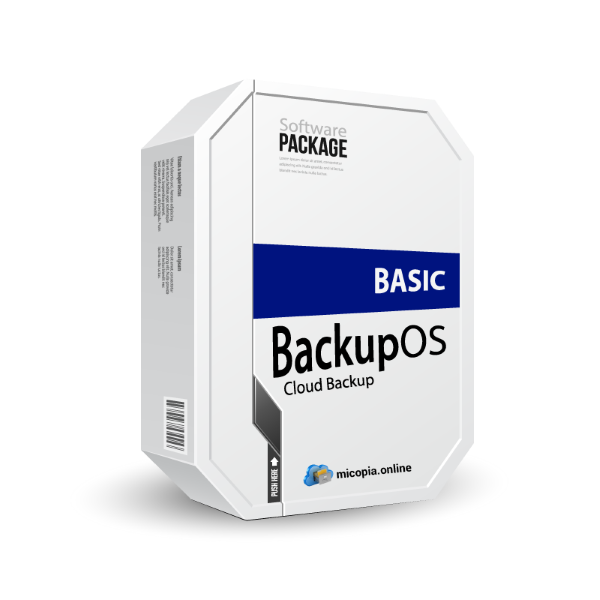 BackupOS Basic Copia de seguridad en la nube | Backup Online